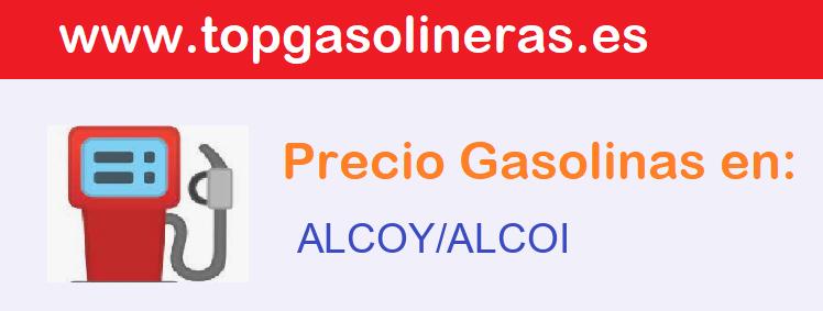 Gasolineras en  alcoy