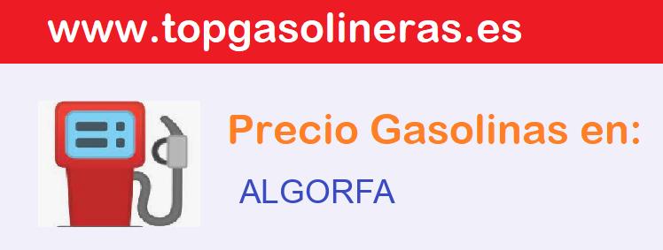 Gasolineras en  algorfa