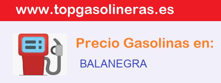 Gasolineras en  balanegra