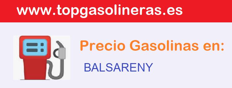 Gasolineras en  balsareny