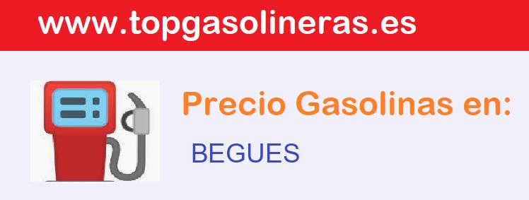 Gasolineras en  begues