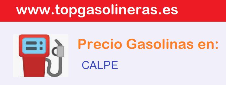 Gasolineras en  calpe
