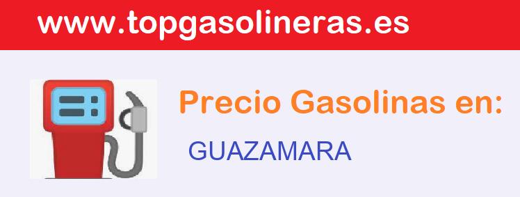 Gasolineras en  guazamara