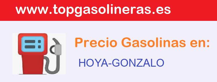 Gasolineras en  hoya-gonzalo