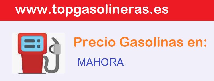Gasolineras en  mahora