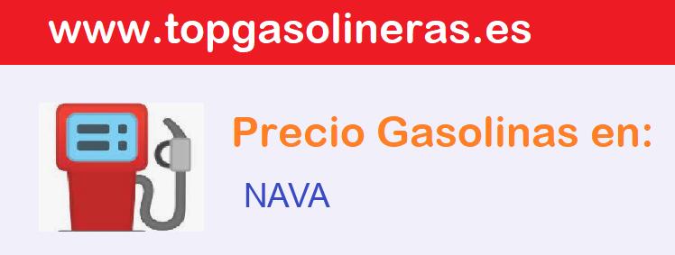 Gasolineras en  nava