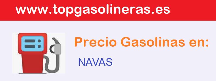 Gasolineras en  navas