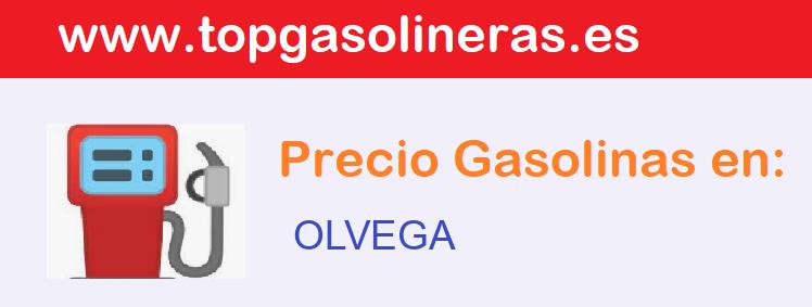 Gasolineras en  olvega