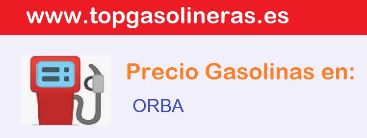 Gasolineras en  orba