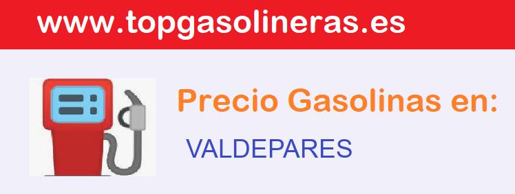 Gasolineras en  valdepares