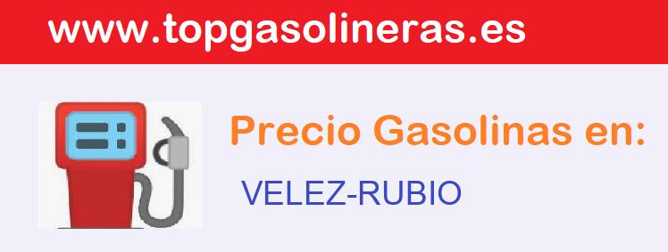 Gasolineras en  velez-rubio