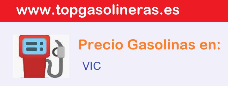 Gasolineras en  vic
